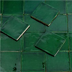 Emerald Green wandtegel 10x10