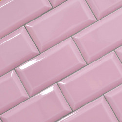 Metrotegel pink glans 7,5x15
